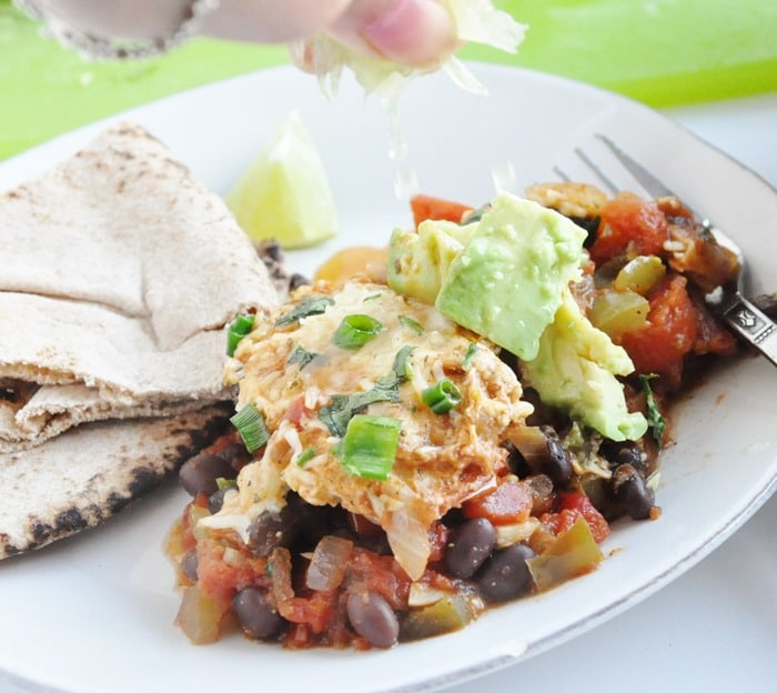 Black Bean Mexican Skillet Eggs (15)