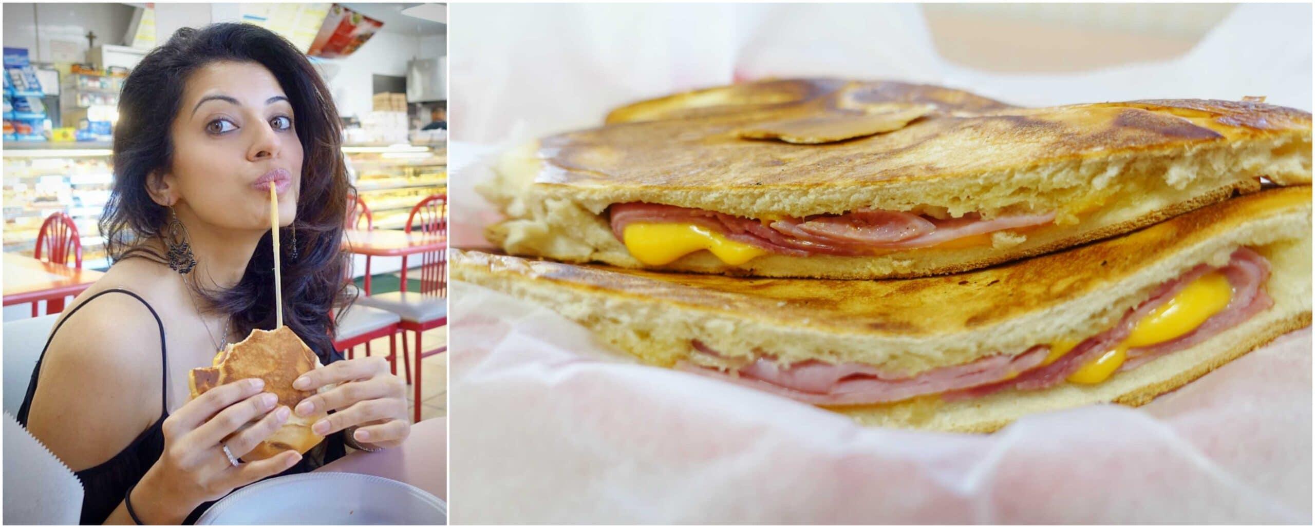 Ham & Cheese Sandwich - La Familia Bakery 2, Rio Grande, Puerto Rico