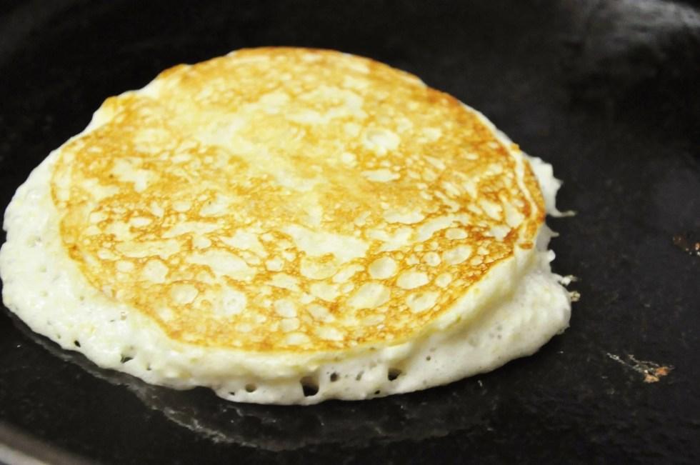 High Protein Banana Bread Pancakes