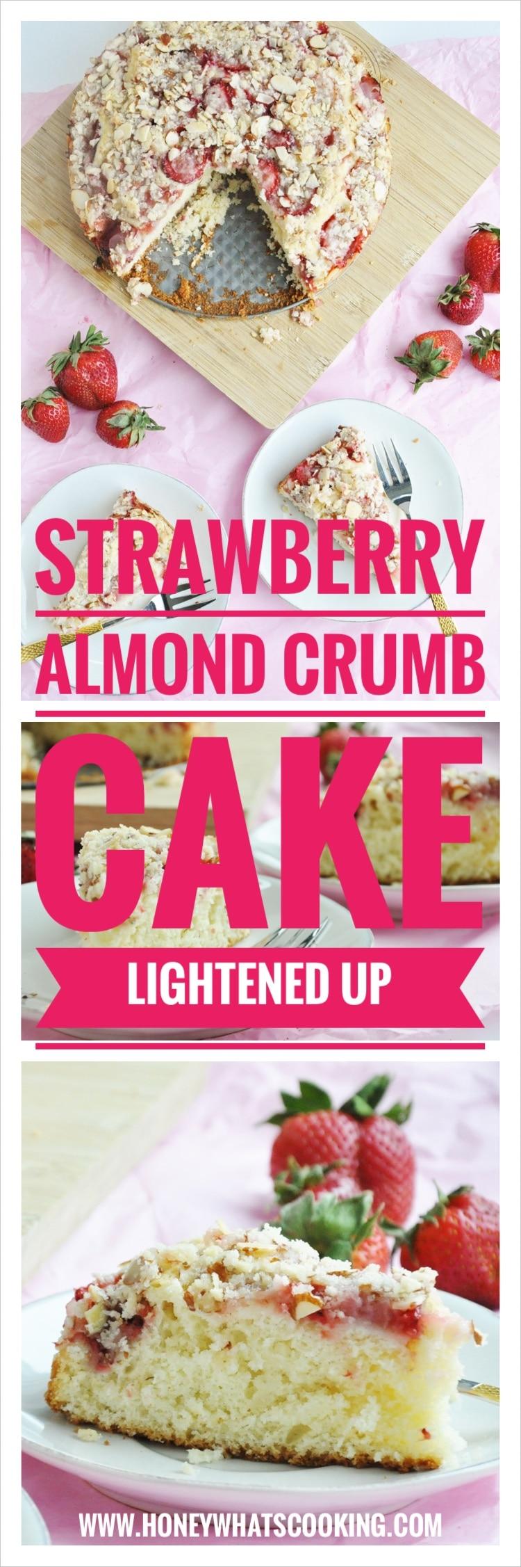 Strawberry Almond Crumb Cake pin