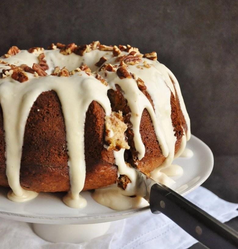 Coconut Hummingbird Bundt Cake