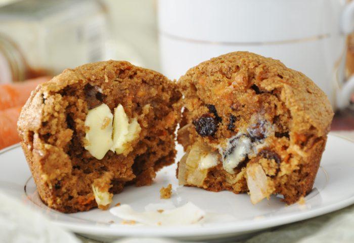 Morning Glory Muffins - healthy, whole wheat, dairy-free