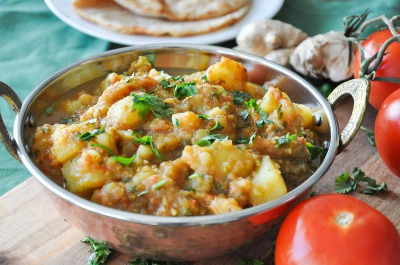 Aloo Rasedar no garlic no onions