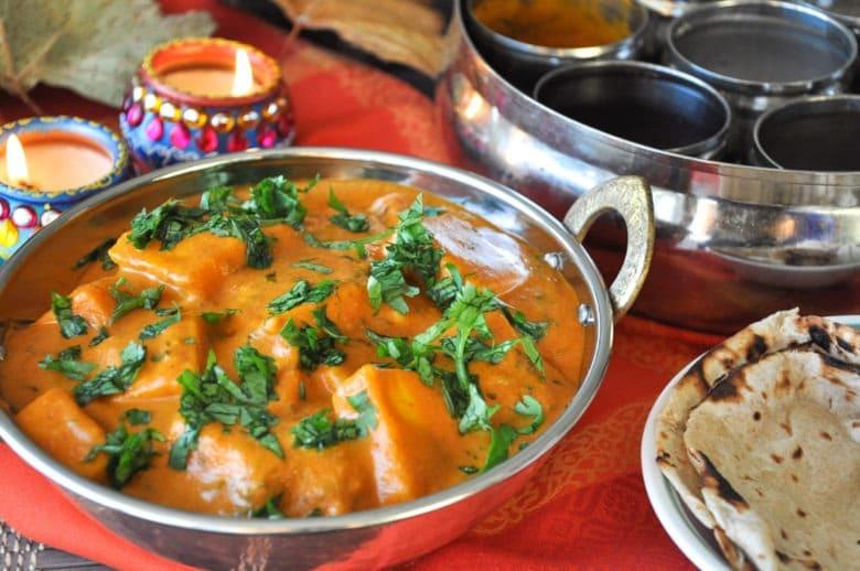 Paneer Makhani (no butter, no cream, gluten-free)