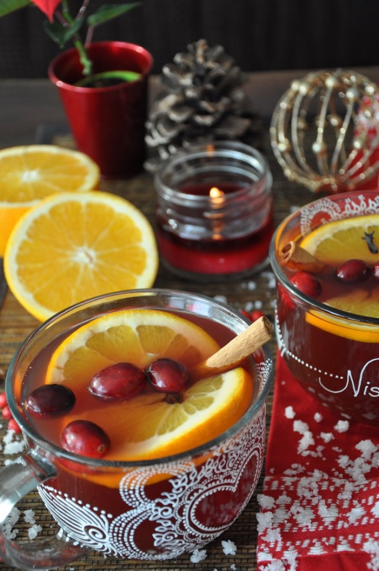 Winter Wassail Holiday Cocktail