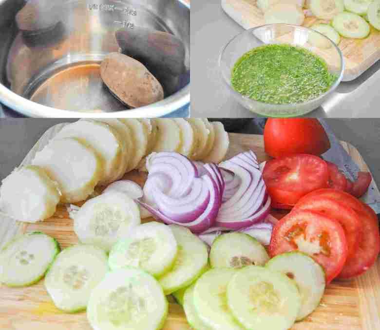 Bombay Grilled Sandwich (vegetarian, vegan option, gf option)