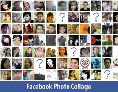 fb photo collage Create Photo Collage/Grid View Of Your Facebook Friends