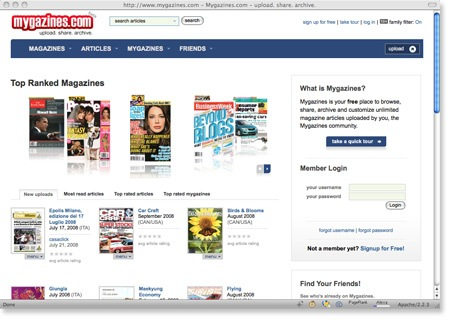Read (Almost Any) Magazines Online For Free – Mygazines