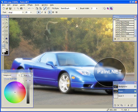 paintnet 11 Free Adobe Photoshop Alternatives (Softwares)