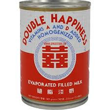 Double Happiness Evaporated Filled Milk
