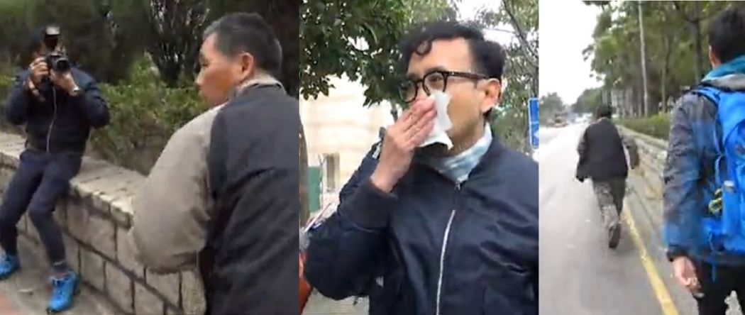 hit assault reporter bestiality dog west kowloon magistrates court