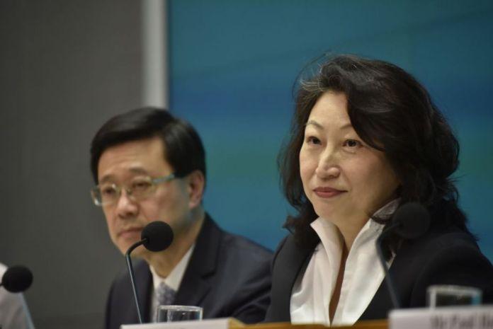 John Lee Teresa Cheng