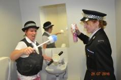 Officers Barrel & Locktock Brush