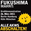 Anti-Atomenergie-Demo am 26.03.2011