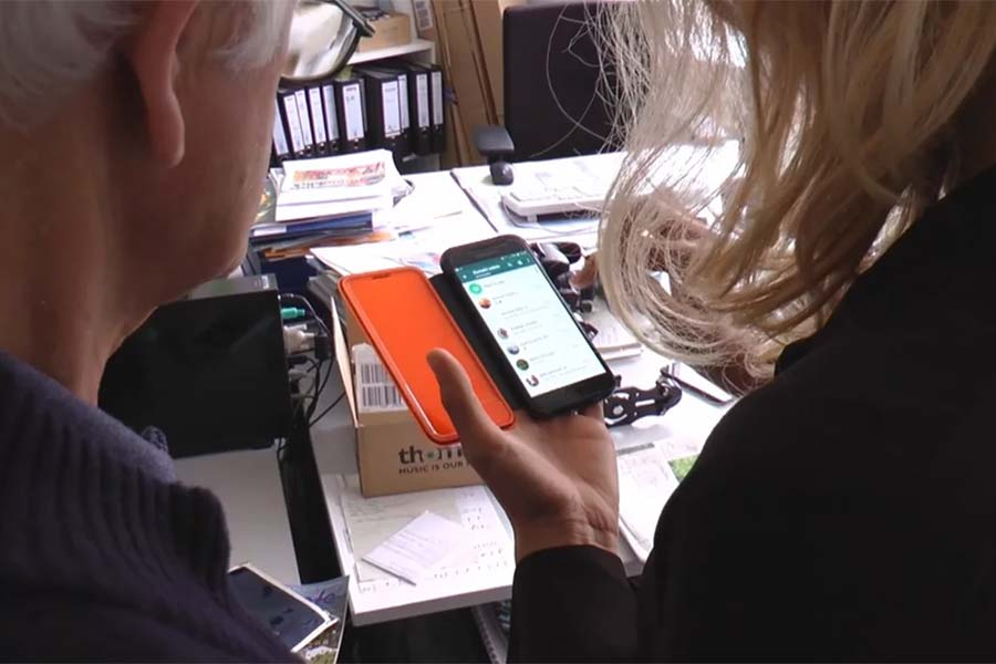 WhatsApp und Businessfrühstück - Neue Angebote der Wirtschaftsförderung