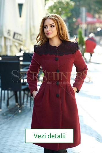 palton elegant de dama