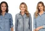Modele de camasi de blugi pentru femei