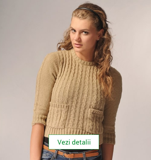 Pulover tricotat Carmen Grigoriu