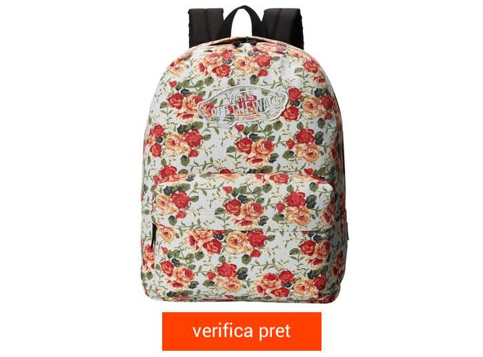 Vans Realm Backpack floral