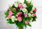 buchet de flori de la floria.ro