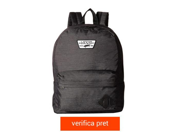 ghiozdan Vans Old Skool II Backpack negreu
