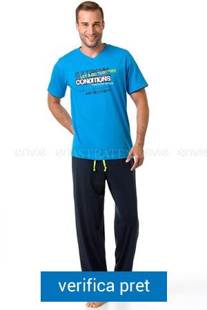 pijama de barbati cu tricou