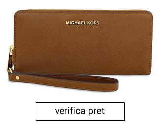 portofel Travel Leather michael kors femei