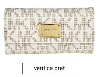 portofel alb michael kors femei