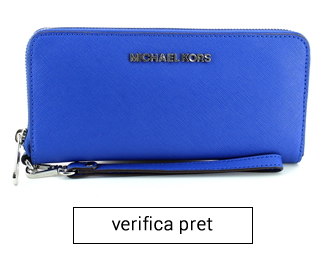 portofel albastru michael kors femei