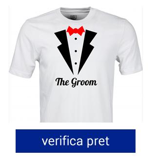 tricou pentru burlaci the groom