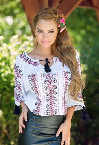 Bluza tip ie traditionala cu snur