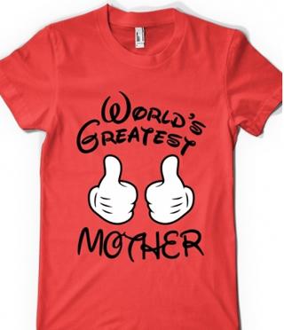 tricouri pentru gravide World's greatest mother
