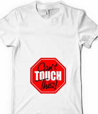 tricouri pentru gravide can't touch this!