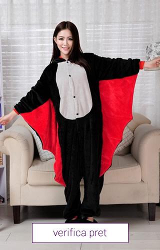 Pijama interaga, model Dracula