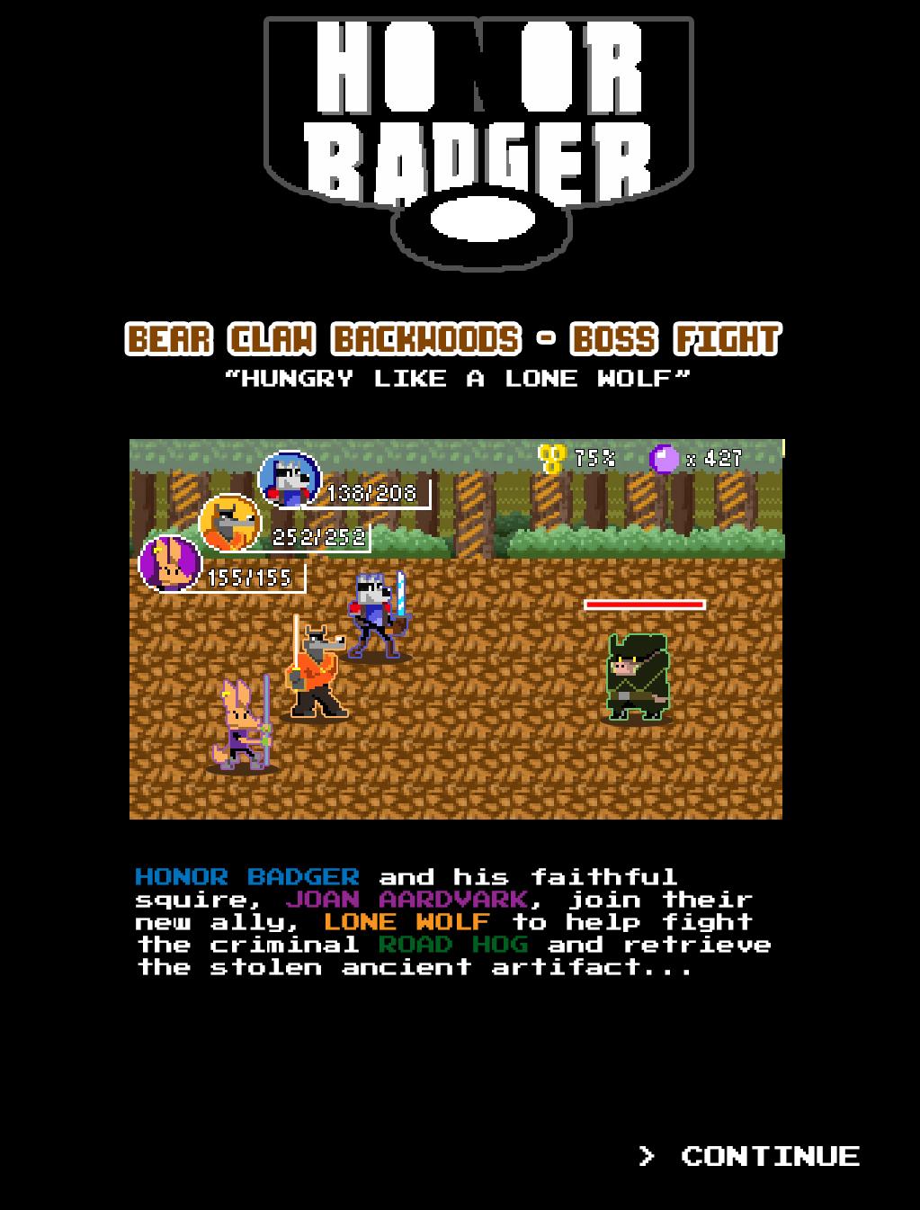 Honor Badger LW Level 4