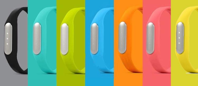 Colorful Silicone Wrist Strap For Xiaomi Mi Band A Nice