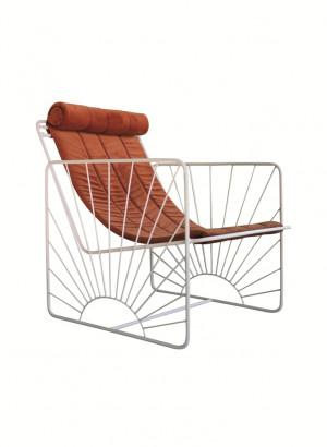 design armchairs iron armchairs