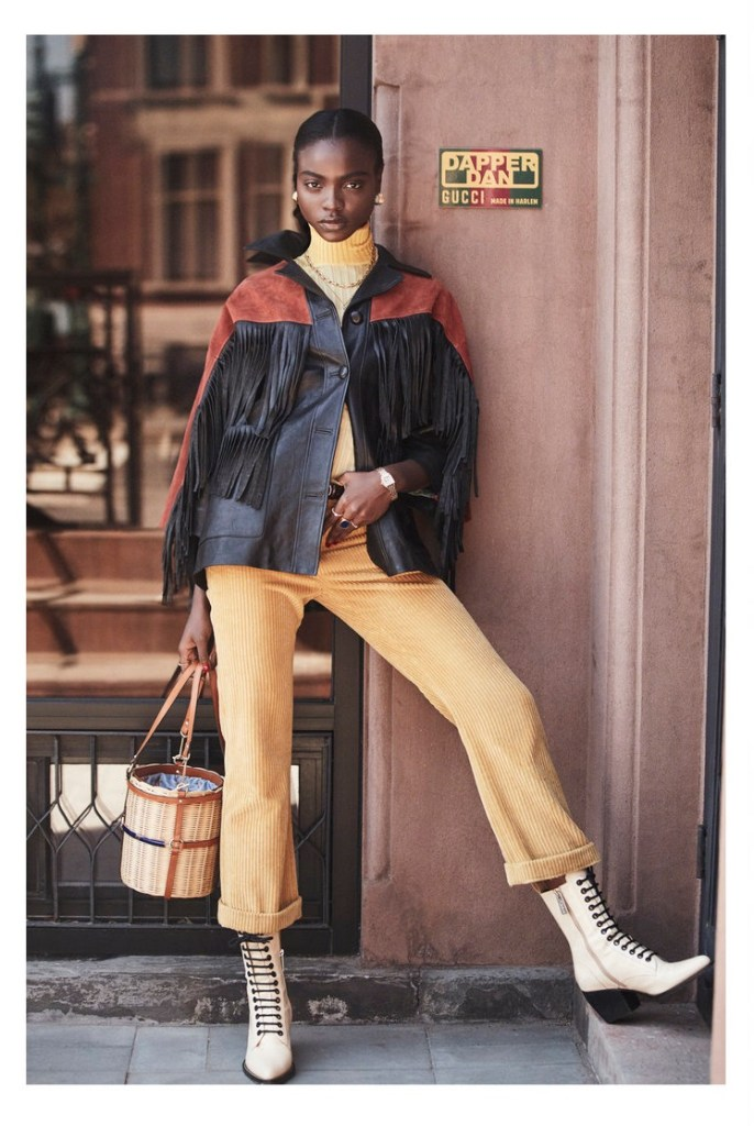 Olamide Ogundele for The Editorialist Magazine Spring 2019. Photographed by David Michael Burns.
