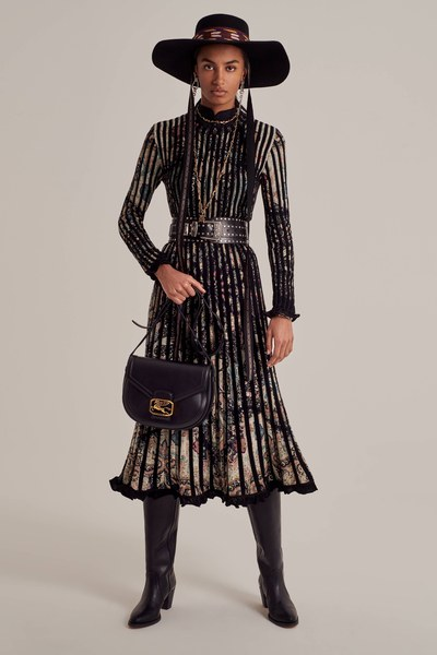 Discover Etro's Pre-Fall 2020 collection. The lookbook is lensed by Cedric Buchet and styled by Géraldine Saglio.