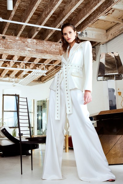 Discover Christian Siriano Pre-fall 2020 collection which is inspired by interior design.