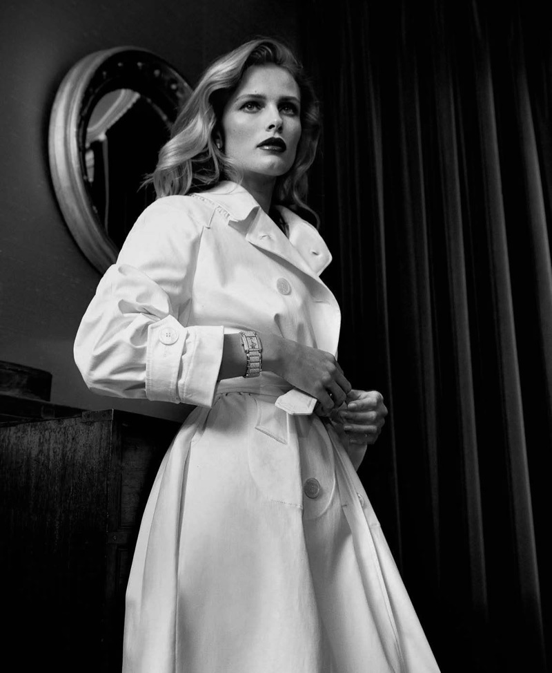 Edita Vilkeviciute for PORTER Magazine's Spring 2018 issue. Photographed by Virginie Khateeb.