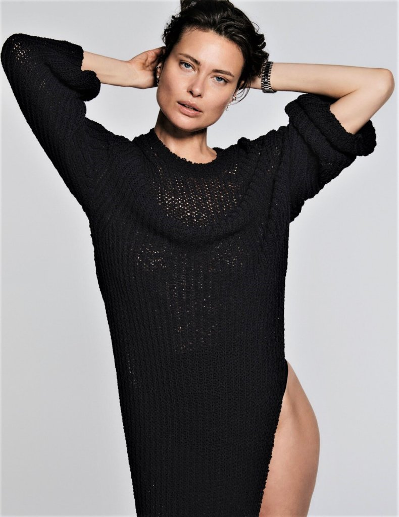 Shalom Harlow for InStyle Magazine US March 2020. Photographed by Chris Colls