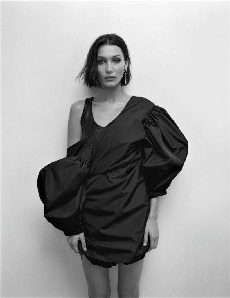 Bella Hadid for Vogue Italia March 2020. Photographed by Zoe Ghertner.