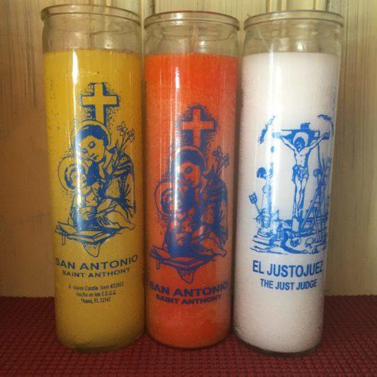 saint candles