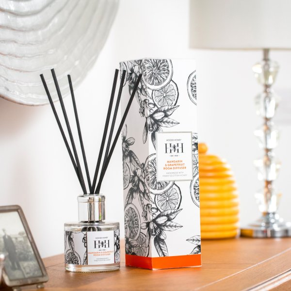 Mandarin and Grapefruit Room Diffuser