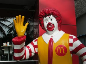 The only murdering clown that we really know of in 2016.