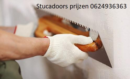 Stucadoor kosten prijzen
