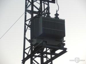 Paaltransformator in Duitsland