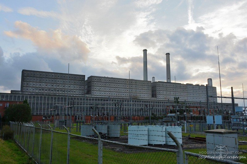 IJsselcentrale Harculo in 2016. Deze centrale is reeds gesloopt.