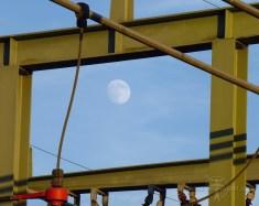 Maansopkomst in Klaaswaal